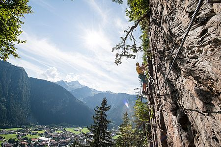 Climbing paradise in the Zillertal