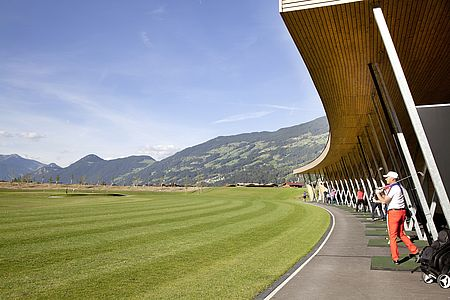 Golf vacation in the Zillertal