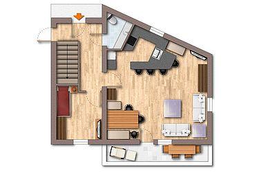 MountainChalet Deluxe floor plan