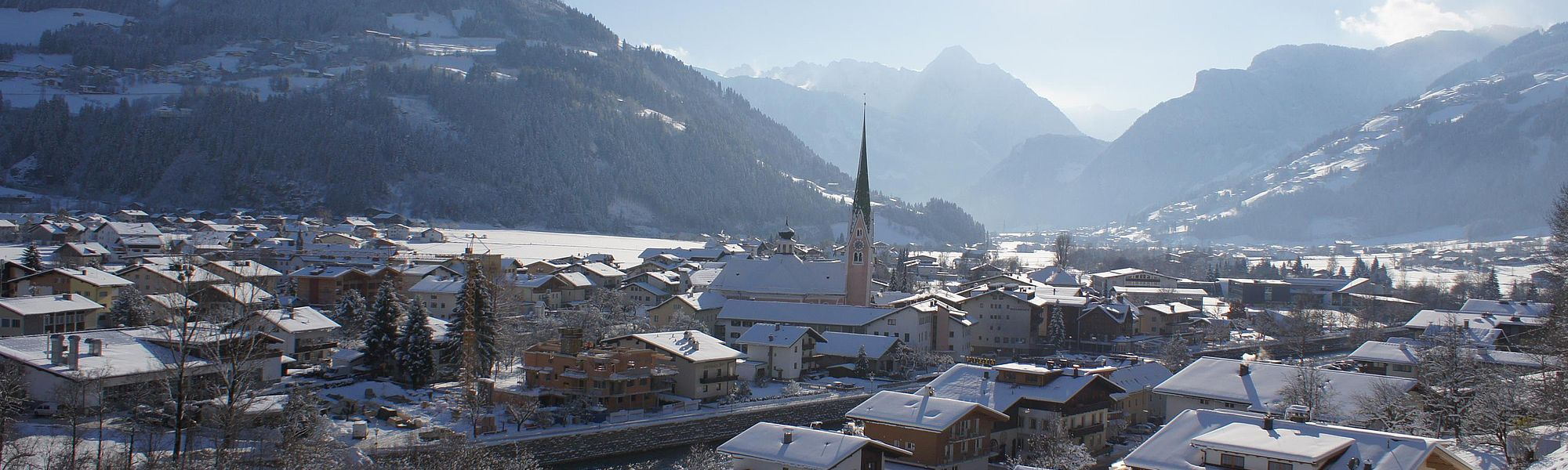 Aktivurlaub in Zell am Ziller im Winter