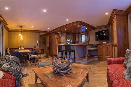 Plenty of space in the large family suite