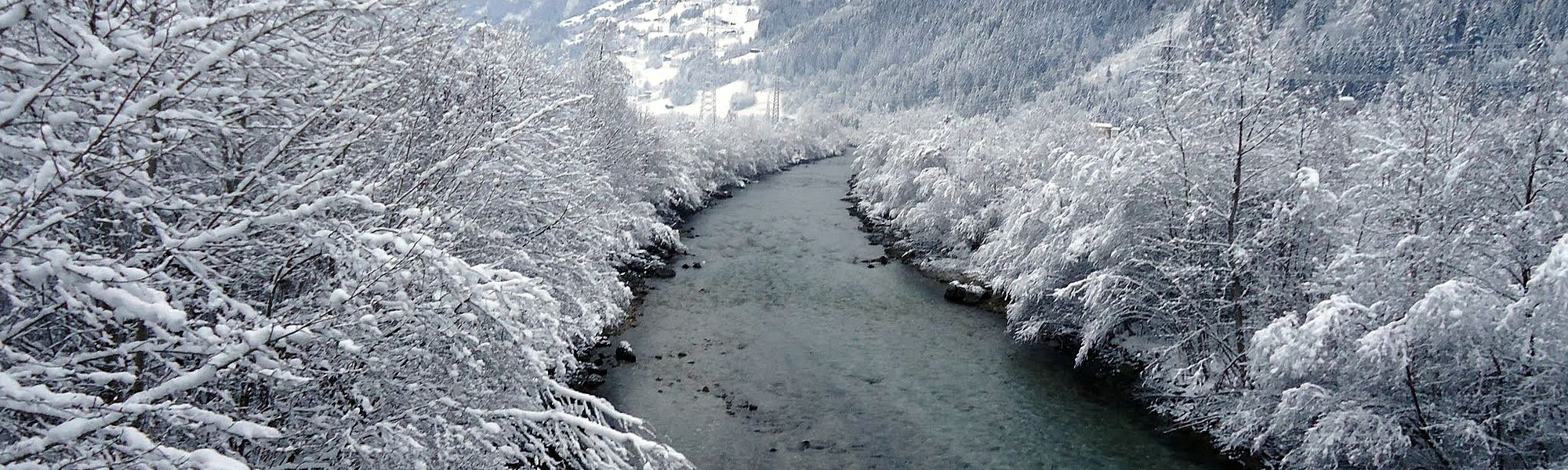 The Zillertal in winter