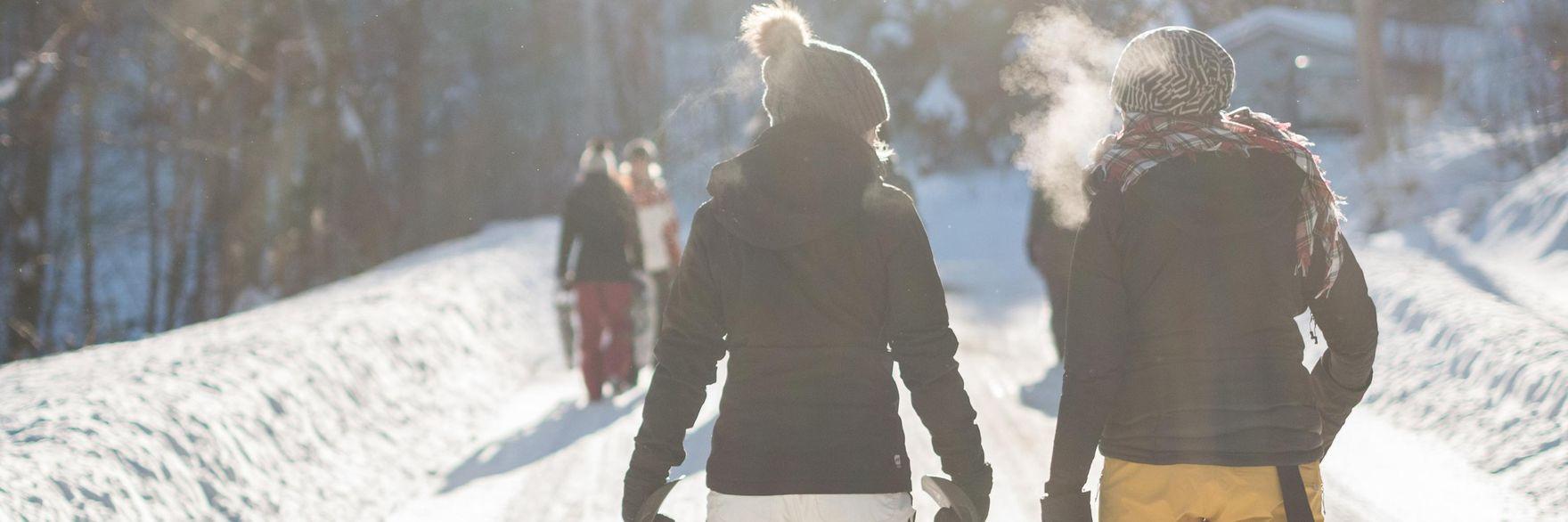 Romantische Winterwanderungen in den Zillertaler Bergen - Wellness für Body & Soul