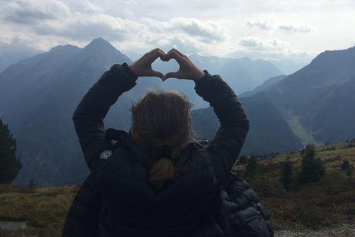 Mountainlove Villa Haidacher - ein Blick vom Penken in die romantischen Zillertaler Seitentäler