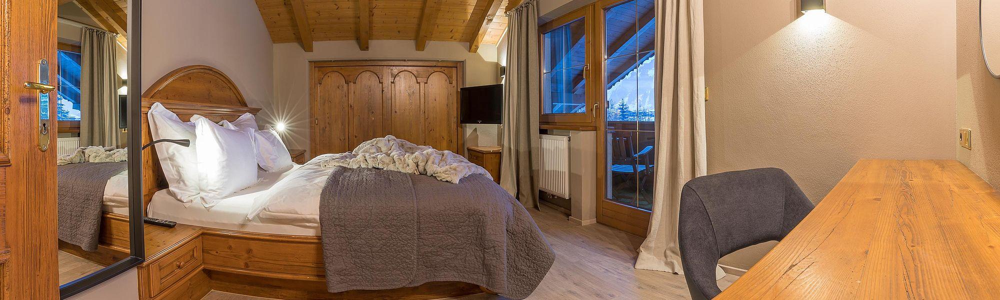 Großes Doppelschlafzimmer mit Wohlfühlgarantie